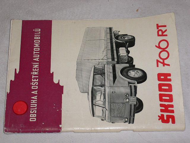 Škoda 706 RT - obsluha a ošetření automobilů - 1966