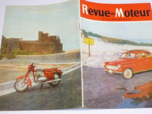 Revue du Moteur Tchecoslovaque - 2/1964 - JAWA, ČZ, Škoda