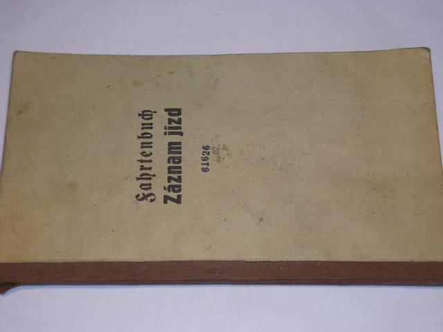 Fahrtenbuch - Záznam jízd