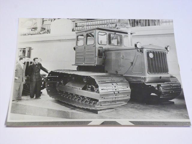 S 80 Stalinec - pásový traktor - fotografie