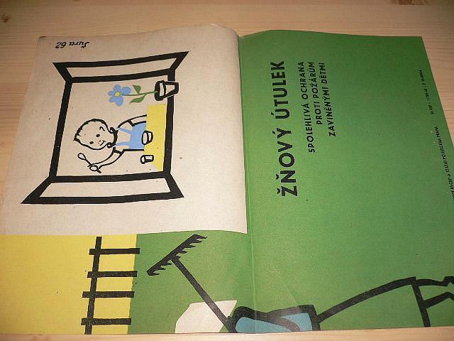 Žňový útulek - plakát - 1962