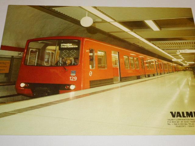 Valmet - metro - leták