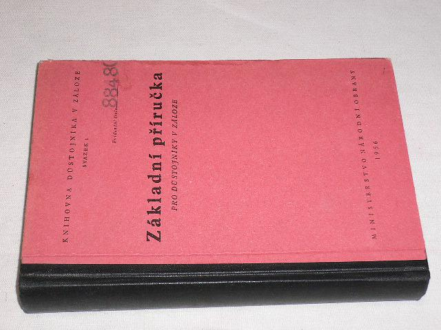 Základní příručka pro důstojníka v záloze - 1956