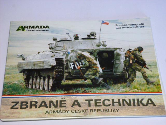 Zbraně a technika Armády České republiky - soubor fotografií