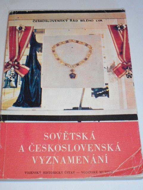 Sovětská a Československá vyznamenání - Milan Kolář, Oldřich Šnajdr - 1974