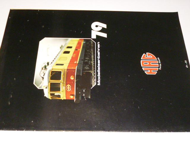 HAG - Modelleisenbahnen 79 - prospekt