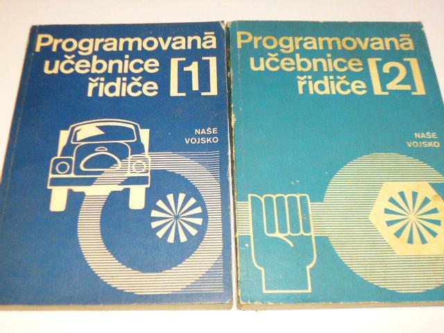 Programovaná učebnice řidiče I. + II díl - 1970