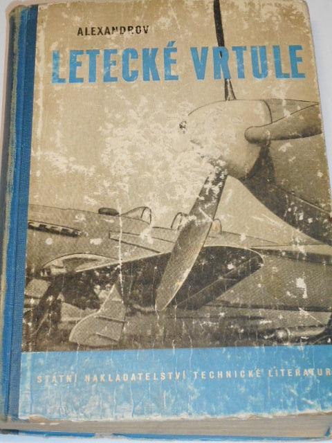 Letecké vrtule - V. L. Alexandrov - 1954