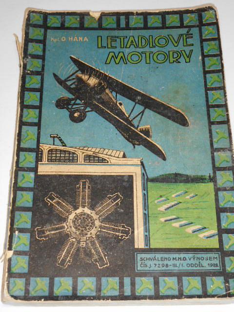 Letadlové motory - Otokar Hána - 1928