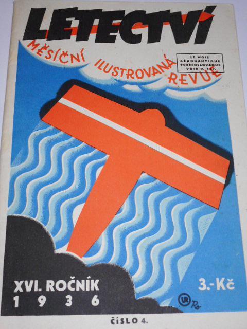 Letectví 4/1936 - měsíční ilustrovaná revue - XVI. ročník