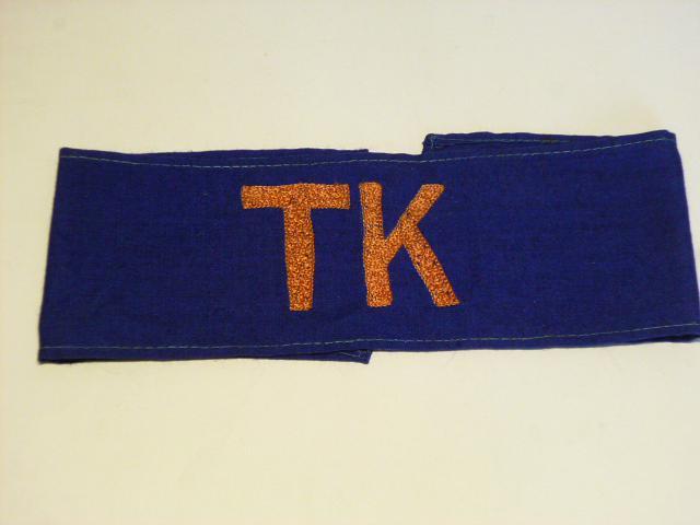 TK - rukávová páska technický - traťový - komisař