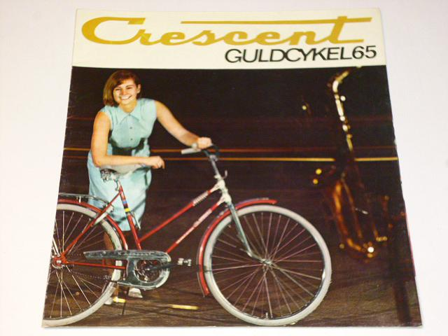 Crescent Guldcykel 1965 - prospekt