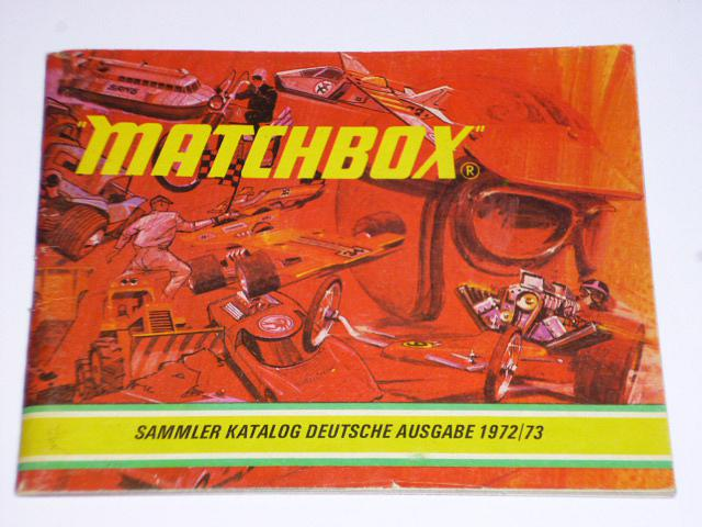 Matchbox sammler katalog deutsche ausgabe 1972/73