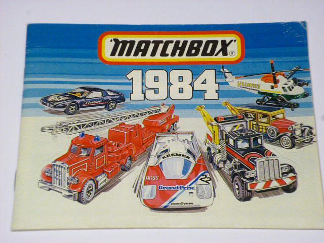 Matchbox 1984 - katalog - prospekt