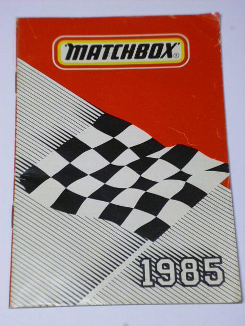 Matchbox 1985 - katalog - prospekt