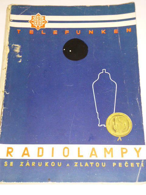 Radiolampy Telefunken - jejich vlastnosti a použití - 1937