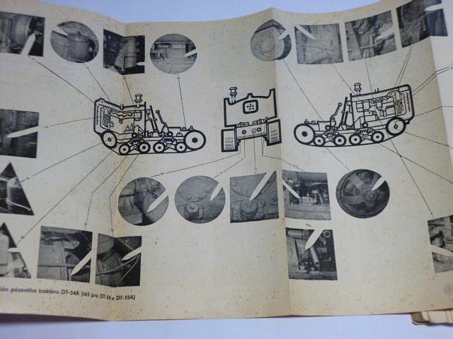 Příručka pro údržbu a opravy traktorů - Zetor, RS-09, DT-54