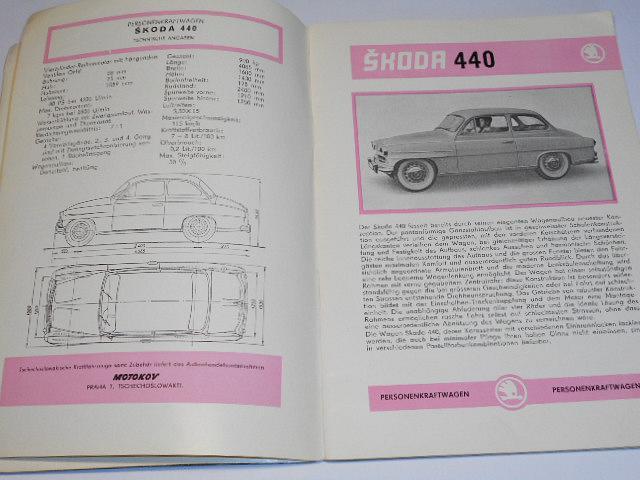 Tschechoslowakische Motor - Revue - 1958 - Škoda, Tatra, Praga