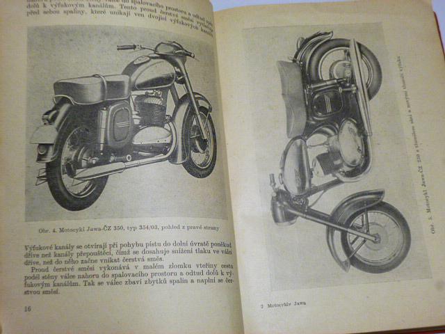 Motocykly Jawa-ČZ 125, 175, 250, 350 - 1959 - Jozíf, Kubíček, Pivrnec, Hruška, Bezouška