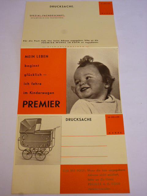 Premier - Drucksache - kočárky