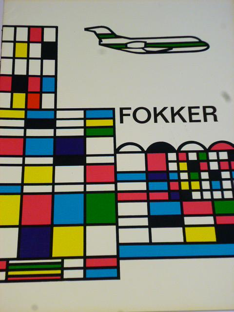 Fokker - prospekt - 1965