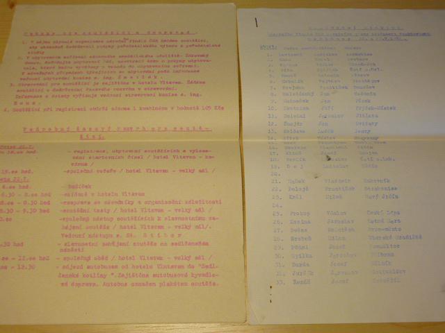 2. ročník soutěže zručnosti traktoristů 1972 - Sedlčany