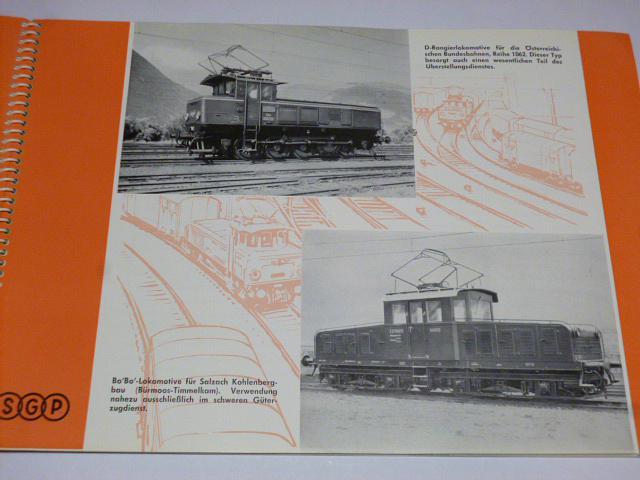 SGP Schienenfahrzeuge - Lokomotiven - prospekt