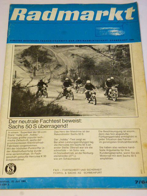 Radmarkt - časopis - 7/1964