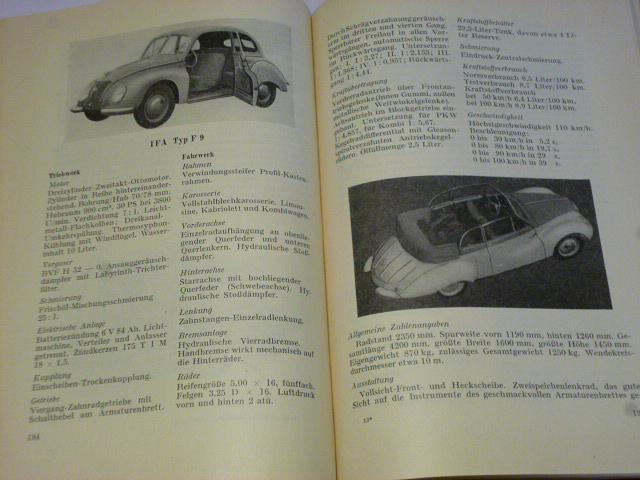 Deutsche Kraftfahrzeuge der baujahre nach 1945