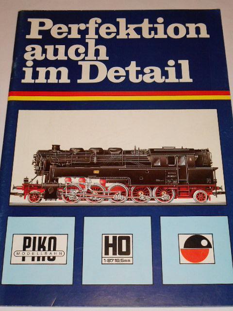 PIKO Modellbahn - modelová železnice - prospekt - Perfektion auch im Detail