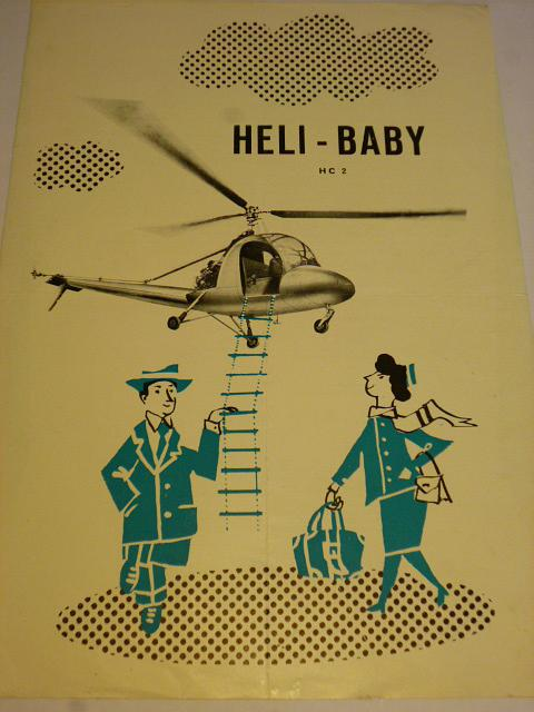 Heli-Baby HC 2 - prospekt - 1957
