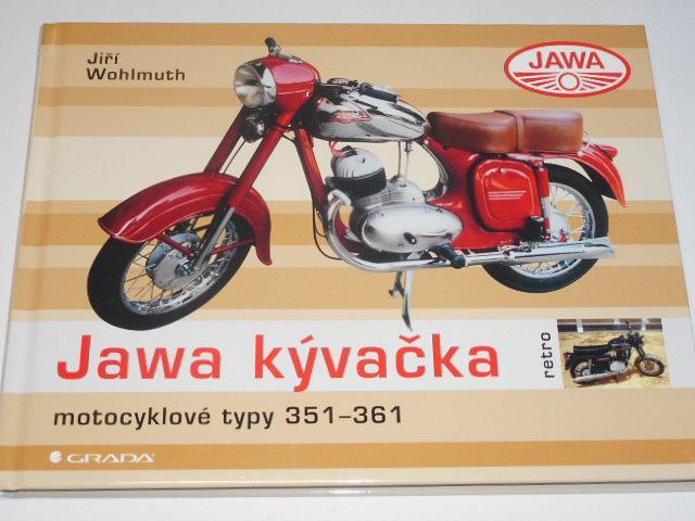 Jawa kývačka - motocyklové typy 351 - 361 - Jiří Wohlmuth - 2021