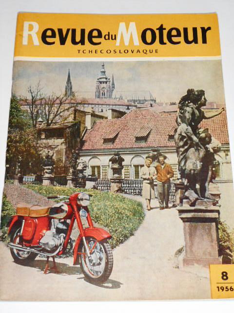 Revue du Moteur Tchecoslovaque - 1956 - JAWA, ČZ...
