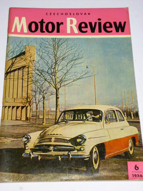 Czechoslovak Motor Review - 1956 - Škoda, Tatra...