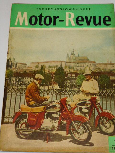 Tschechoslowakische Motor - Revue - 1956 - JAWA, ČZ...