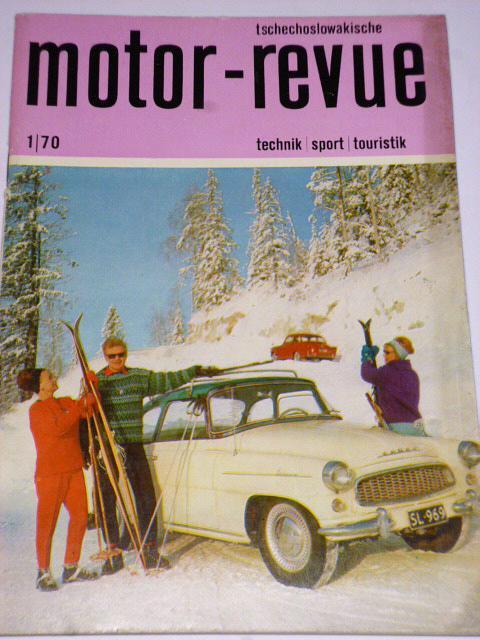 Tschechoslowakische Motor - Revue - 1970 - Škoda...