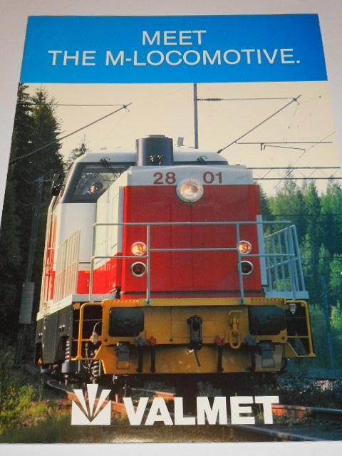 Valmet - Meet the M-locomotive - 1988 - prospekt