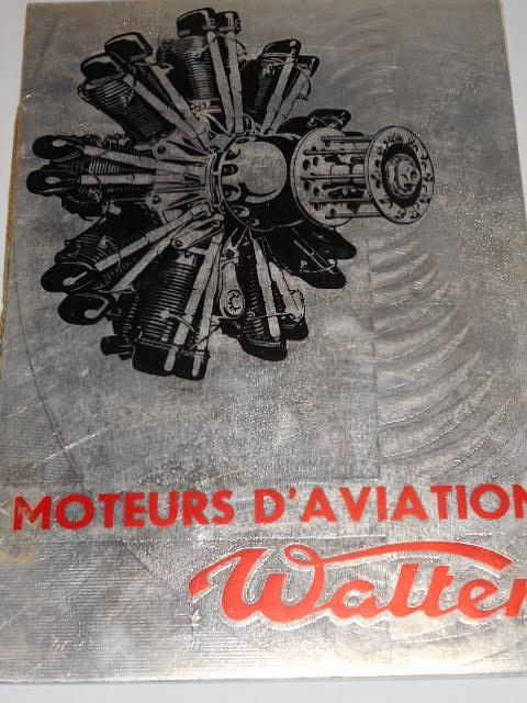 Walter - moteurs d´aviation - 1936 - prospekt