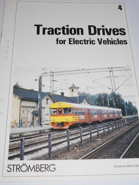 Strömberg - Traction Drives for Electric Vehicles - prospekt - 1984