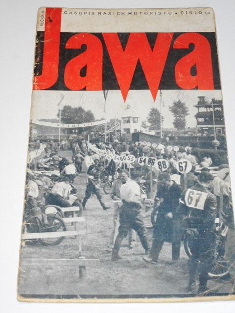 JAWA - časopis našich motoristů - 10/1935