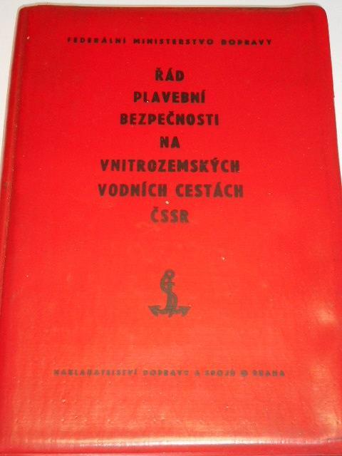 Řád plavební bezpečnosti na vnitrozemských vodních cestách ČSSR - 1974