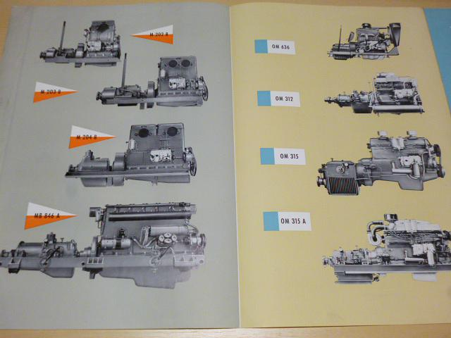 Mercedes - Benz - Diesel Motoren - prospekt