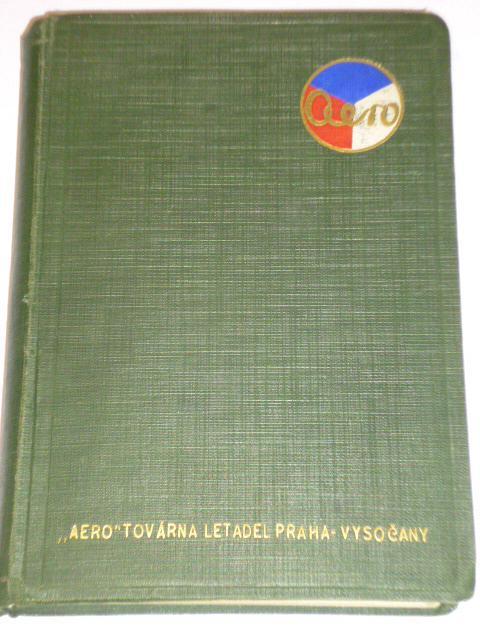 Letecká příručka 1930 - Aero továrna letadel Praha Vysočany