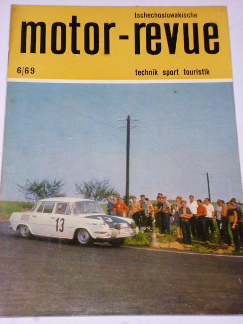 Tschechoslowakische Motor - Revue - 1969 - Škoda...
