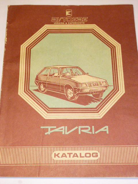 Avtozaz Ukraina - Tavria ZAZ-1102 - katalog součástek - 1992