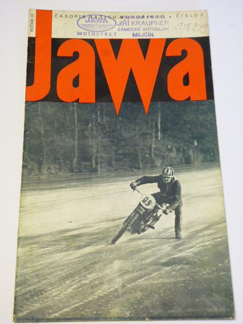 JAWA - časopis našich motoristů - 2/1937