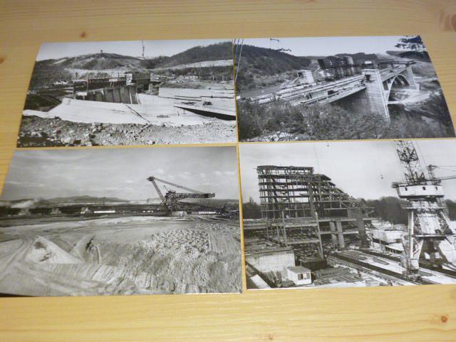 Hutní montáže n. p. Ostrava - pohlednice