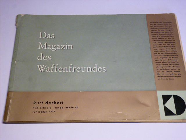 Kurt Deckert - Das Magazin des Waffenfreundes - 1964-65