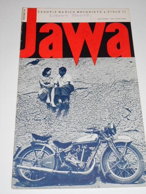 JAWA - časopis našich motoristů - 11/1940