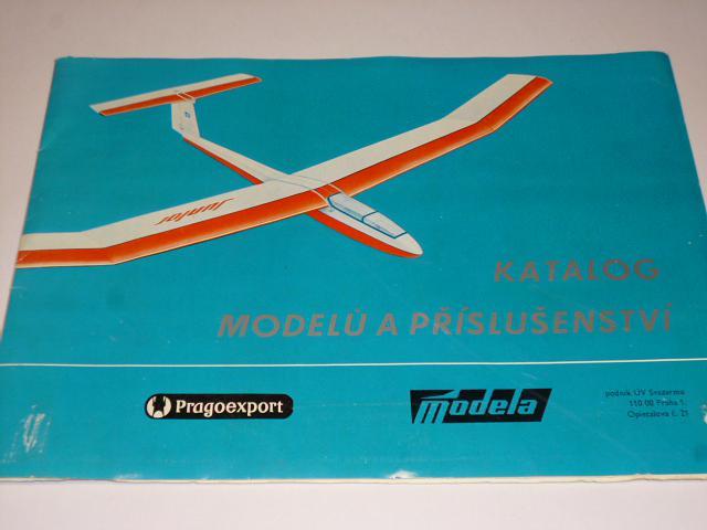Modela - katalog modelů a příslušenství - 1981/1982